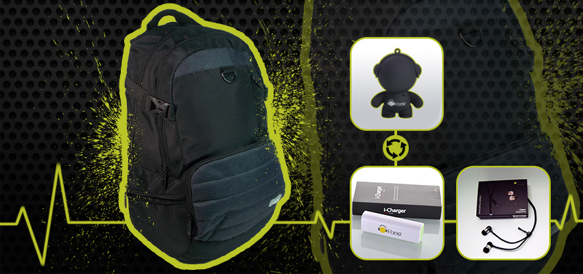 Active Blue Gadgets Backpack