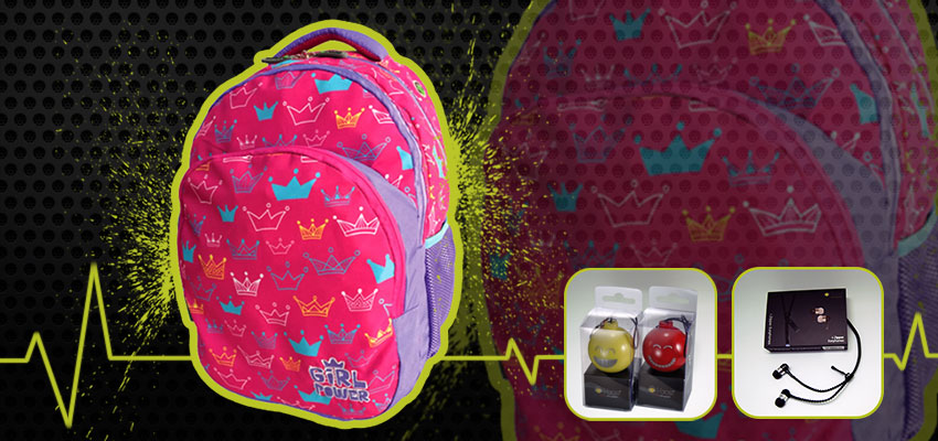 Girl Power Gadgets Backpack
